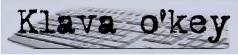 Клавиатурный тренажер klava o'key