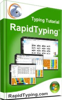 Логотип тренажера клавиатуры RapidTyping Tutor
