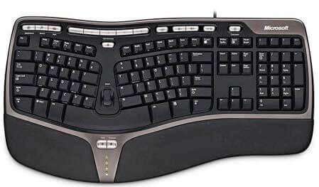 Клавиатура для слепой печати