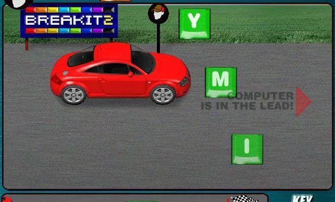 Флеш-игра Key Racer