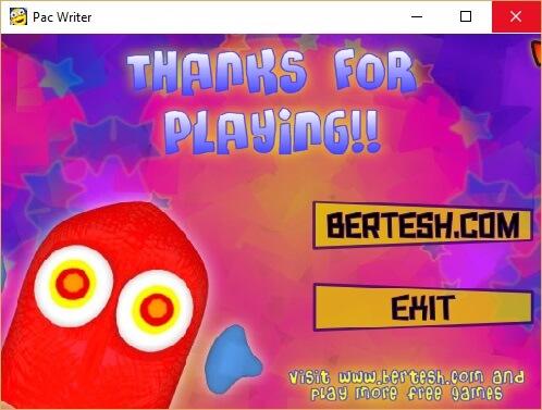 Pacwriter - игровой тренажер клавиатуры